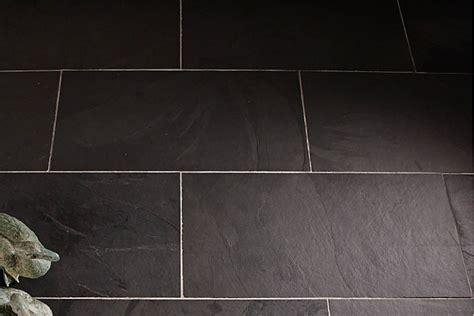 Indian black slate floor tiles