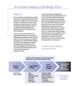 human resources business plan template sle resource plan template 6 free documents in pdf