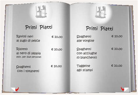 primi piatti design quarter menu trattoria taggeine chiavari www taggeine eu