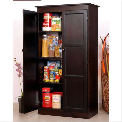Stand Alone Kitchen Pantry Cabinet Attachment Stand Alone Pantries 1012 Diabelcissokho