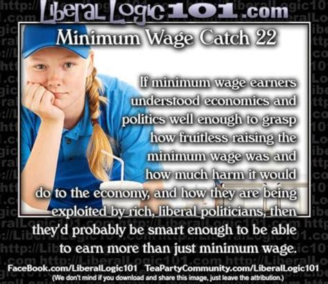 Minimum Wage Meme - meme reveals why liberals are obsessed with minimum wage laws