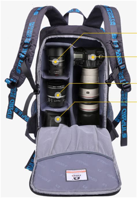 dslr slr camera backpack outdoor camping hiking camera bag