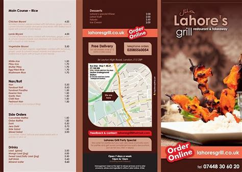 takeaway menu design services cheap takeaway menus