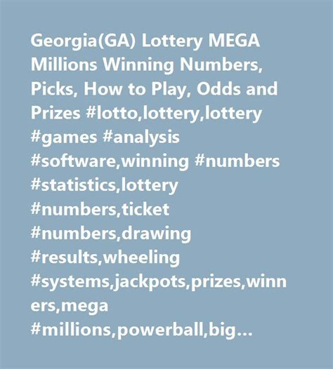 pattern analysis of the mega millions lottery 25 best ideas about winning numbers on pinterest second