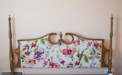 upholstered vintage headboard tutorial remington avenue