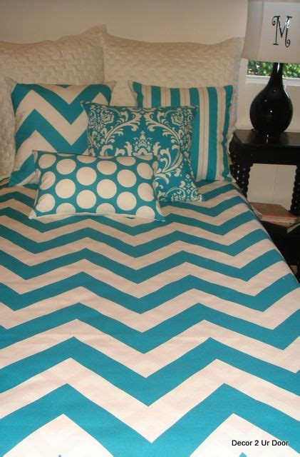turquoise chevron bedding 75 best images about chevron bedroom on pinterest chair slipcovers chevron chairs