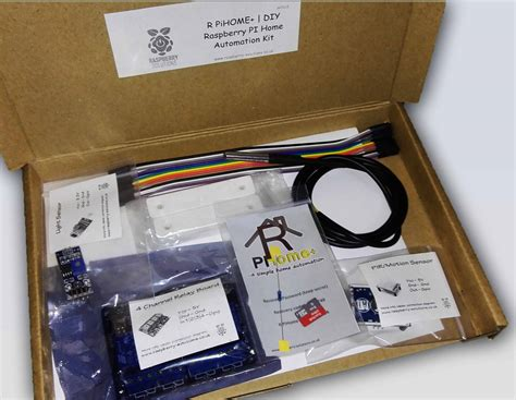 raspberry pi home automation kit