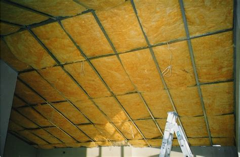 Ceiling Insulation Ratings by R4 0 Fiberglass Ceiling Blanket East Coast Suspended