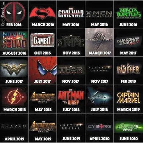 film marvel jusqu en 2020 movie happenings for marvel 2017 2020 movieside