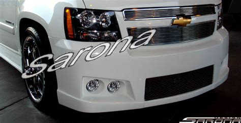 custom chevy tahoe suvsavcrossover front bumper