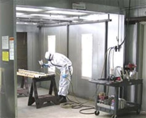 Spray Painting In Spray Booths Safety Procedure