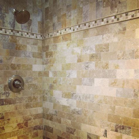 bathroom tile travertine a luxurious travertine shower subway tile thetileshop