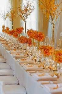 Pretty Table Decorations The Autumn Wedding Flower Place Setting Ideas