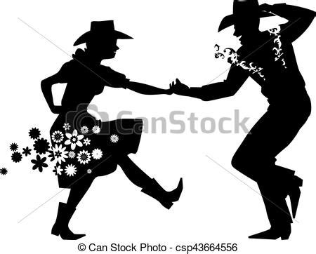 Barn Style Home Plans barn dance silhouette couple dancing country western eps
