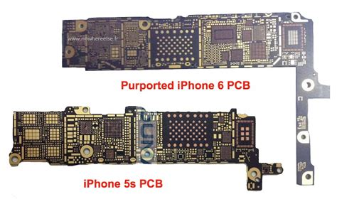 Apple Series 4 Logic Board by Bare Iphone 6 Logic Board Surfaces Claimed To Support Nfc And 802 11ac Wi Fi Mac Rumors