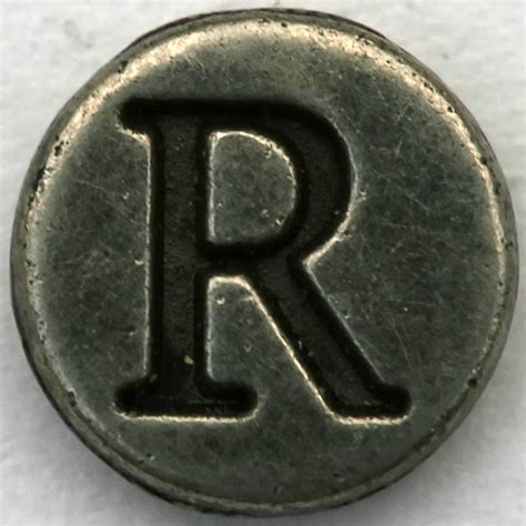 pewter letter pewter letter r a photo on flickriver