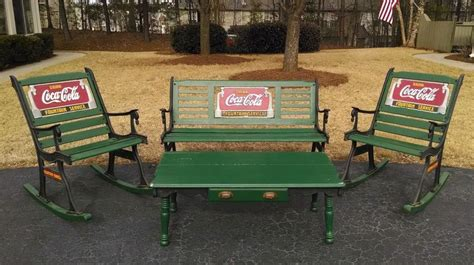 coca cola bench 938 best images about coca cola home on pinterest