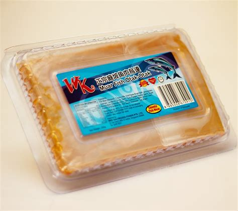 wk muar chunky fish meat otak otak muar otak otak products