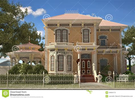 victorian style house luxury victorian style house exterior stock photos image 24664173