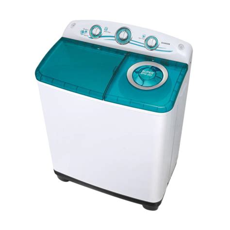 Mesin Cuci Otomatis Sanken jual sanken tw 1080 mesin cuci toscha 2 tabung 9kg