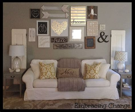 Livingroom Wall Ideas by Living Room Decor Rustic Farmhouse Style Rustic Taller