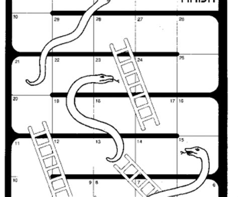 snakes and ladders template pdf present simple snakes and ladders