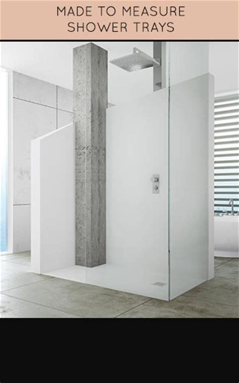 Made To Measure Showers by Bespoke Shower Trays Made To Measure Shower Tray Suppliers