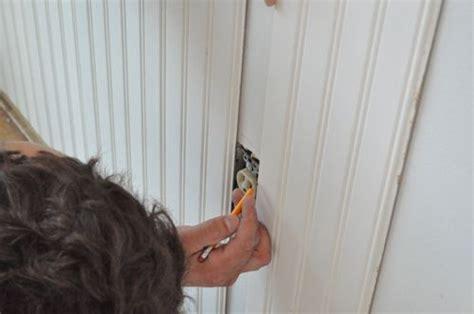 how to install beadboard sealants direct paint how to install beadboard