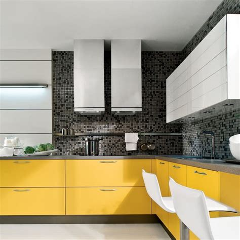 grey and yellow kitchen ideas modern yellow and grey l shaped kitchen l shaped kitchen