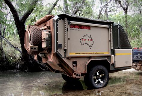 Tacoma Tent And Awning Conqueror Uev 440 Off Road Camper Trailer