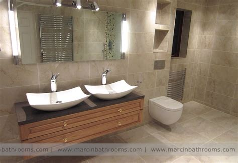 double sink basin for bathrooms double basin vanity unit bathroom shower rooms pinterest