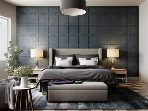grey wallpaper bedroom ideas 42 gorgeous grey bedrooms