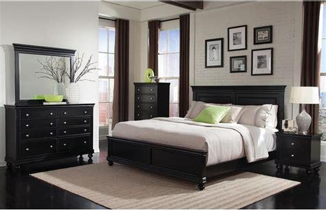 bridgeport 5 piece queen bedroom set black the gap
