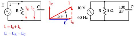 a resistor and capacitor in a series ac circuit mastering physics lessons in electric circuits volume ii ac chapter 4