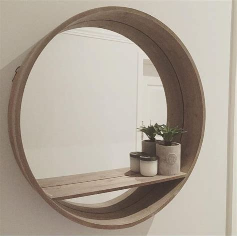 round bathroom mirror with shelf 25 best round mirrors ideas on pinterest