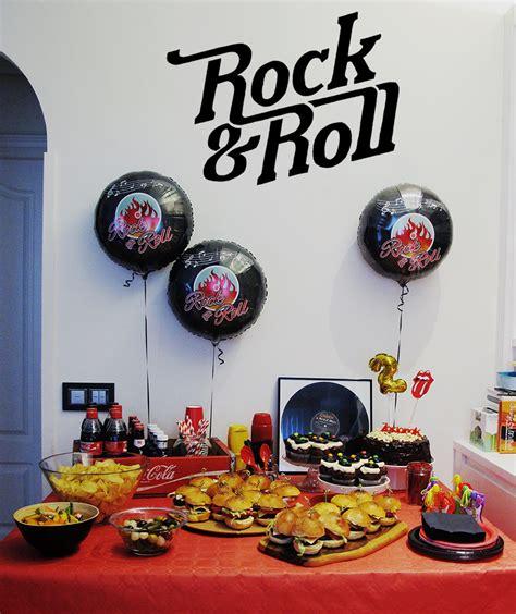 imagenes fiesta rockera una fiesta de cumplea 241 os con mucho rock 180 n roll