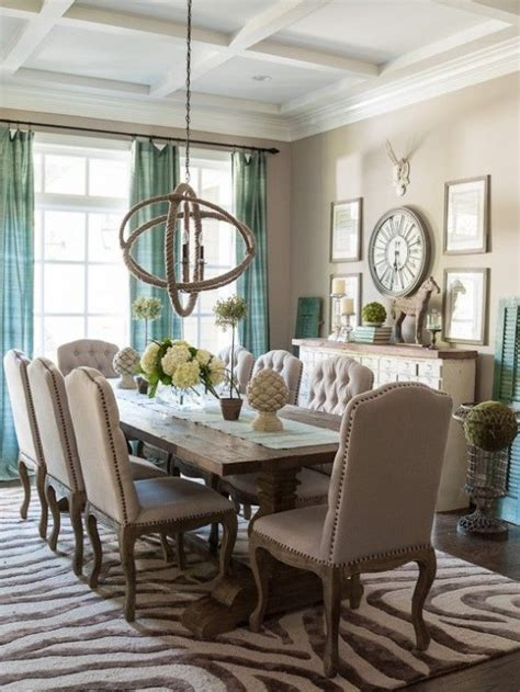 dining room table accents 25 beautiful neutral dining room designs digsdigs