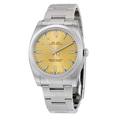 Rolex Oyster Perpetual Automatic 44cm 2 rolex oyster perpetual 34 chagne stainless steel
