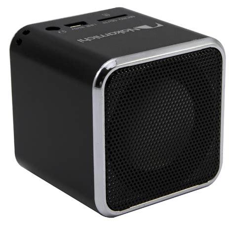 Speaker Mini Nakamichi nakamichi mi01 mini speaker black