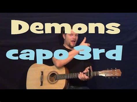 tutorial demons guitar demons imagine dragons easy strum guitar lesson how to