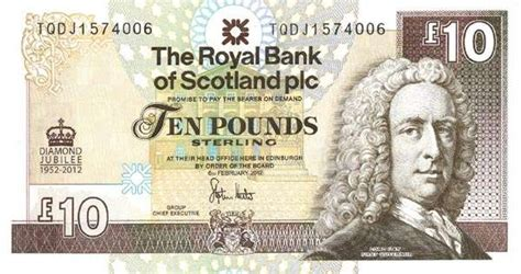 history of bank of scotland scotland s 10 pound note