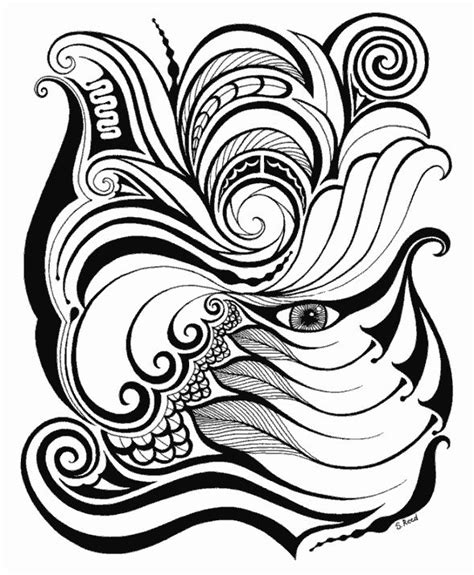 tribal pattern doodles tribal flower pattern doodle zenspiration pinterest