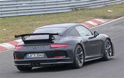 porsche instructions 2018 porsche 911 gt3 spied testing at the nurburgring