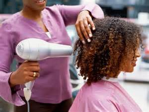 how to blow dry natural hair without suffering heat damage