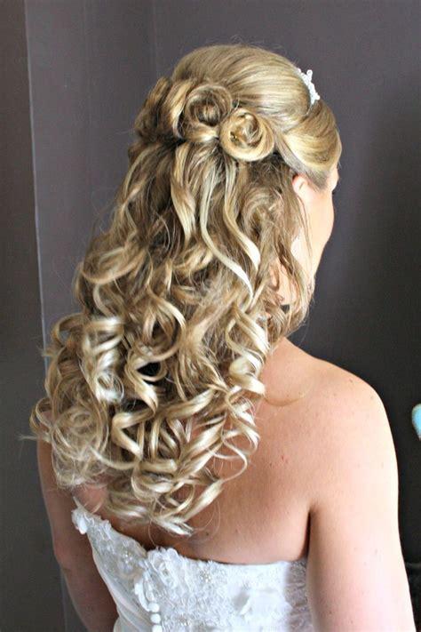 bridal hairstyles all up bridal hairstyles half up half down blonde wedding ideas