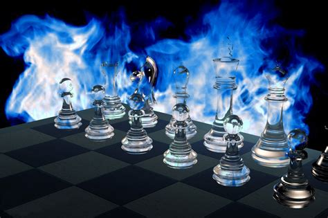 Glass Chess Boards by Glass Chess Board Wallpaper Rocketdock Com