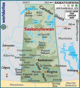 map of saskatchewan canada saskatchewan canada large color map