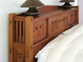 Mission Style Headboard Custom Bedroom Furniture Maine Furniture Makers Luxury