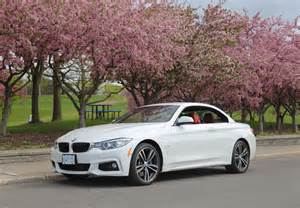 Bmw 435i Xdrive Review 2015 Bmw 435i Xdrive Cabriolet Canadian Auto Review