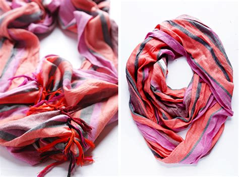 Rock Tassel Scarves Take The World by How To Turn A Regular Scarf Into An Infinity Scarf Gimme